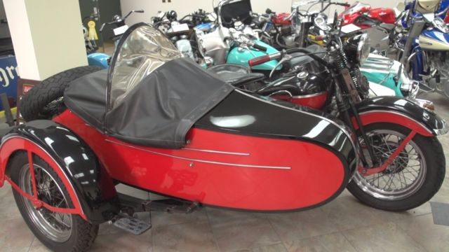 1941 Harley Davidson LE Side Car Outfit  First year FL  Private