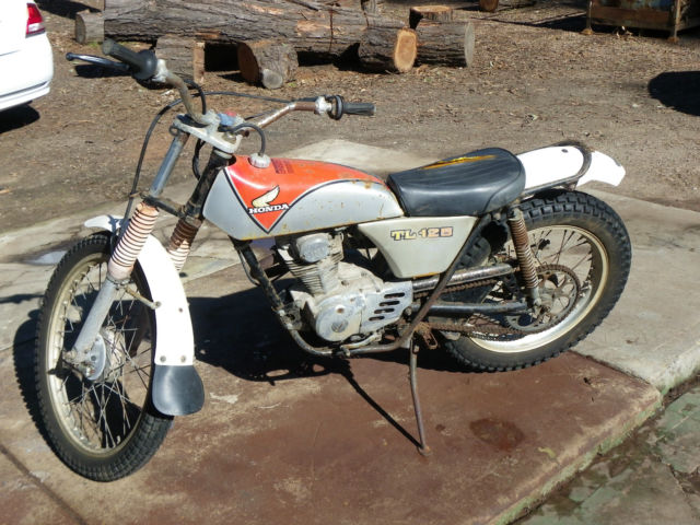 HONDA TL 125 Trials bike 1972 to 1976 relisting due to last buyer not buying it