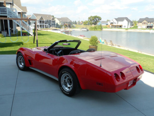 1974 Chevrolet Corvette Convertible - Fully Loaded, Exceptional & Rare!!!