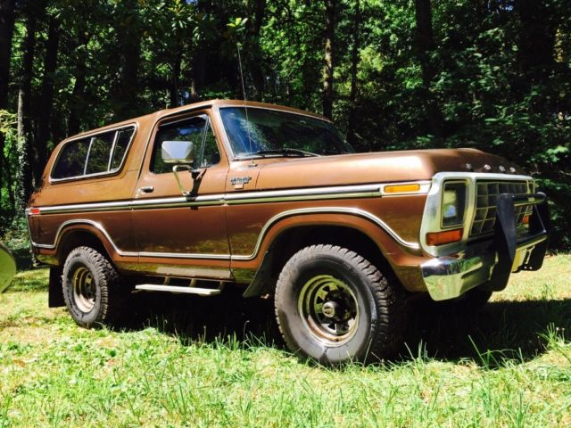 1979 Ford Ranger Bronco XLT Classic