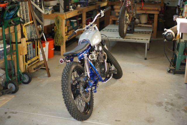 1972 Honda CL 350 Brat Style Motorcycle