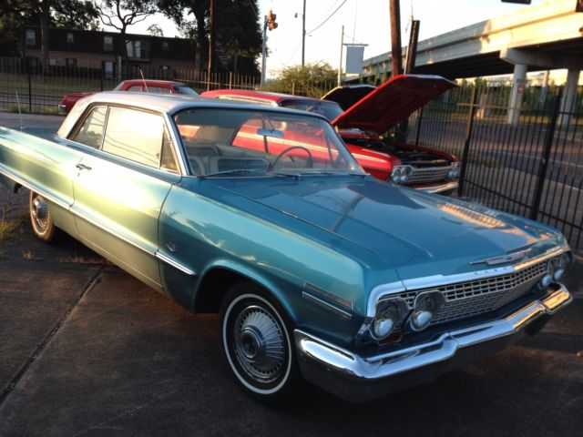 1963 Chevy Impala, 2 Door, Hardtop, 327/300hp