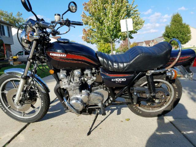 1977 Kawasaki KZ 1000 ltd