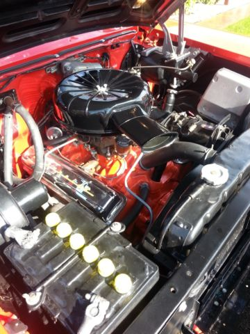 Chevrolet: Bel Air/150/210 red/silver