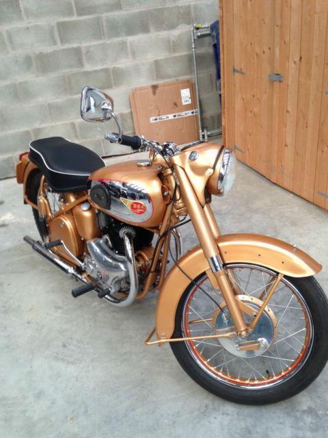 1954 BSA 650cc Golden Flash