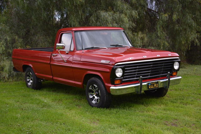 AWESOME RESTORED 1967 FORD F100 PICKUP