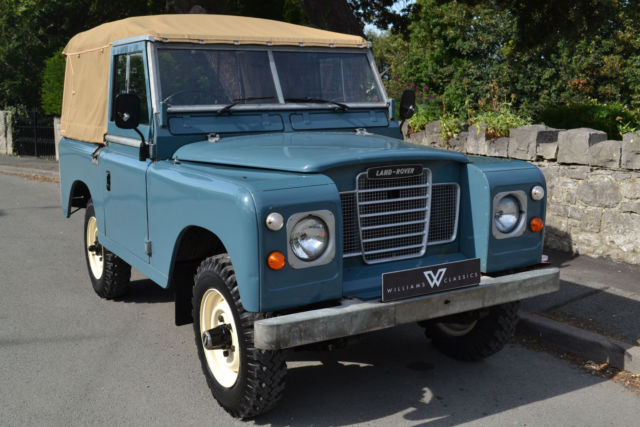 """Land Rover Series 3 88"""" Softop 2 Owners and 58,000 Miles !!SOLD MORE REQUIRED!!"""