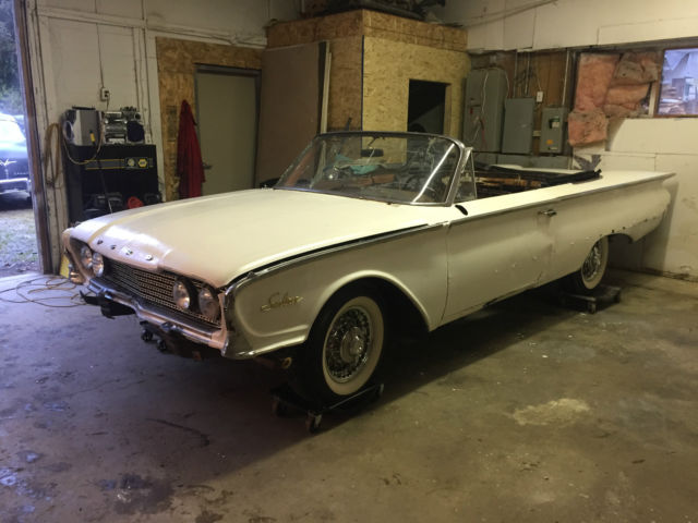 1960 Ford Galaxie Sunliner Convertible   *** NO RESERVE ***