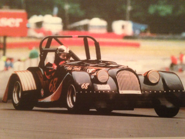 1965 MORGAN FACTORY BUILT LIGHTWEIGHT 4 PLUS 4 VINTAGE RACE CAR RARE SCCA