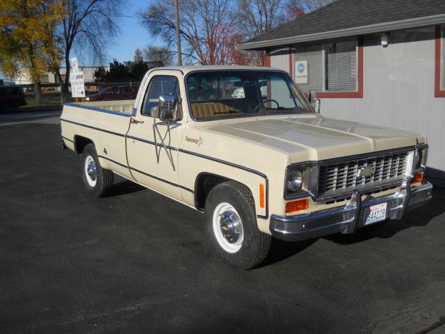 1974 Chevrolet Cheyenne Super 3/4 Ton 2wd Long Box Pickup