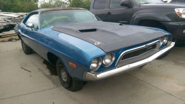 1973 DODGE CHALLENGER - 360 CU IN - 4 barrel