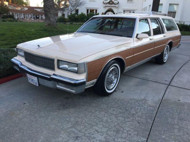 1989 Chevy Caprice Classic Wagon