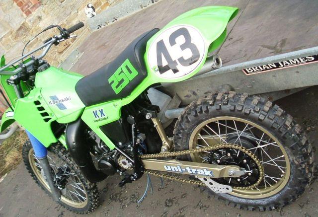 KAWASAKI KX250 1983 EVO MOTOCROSS