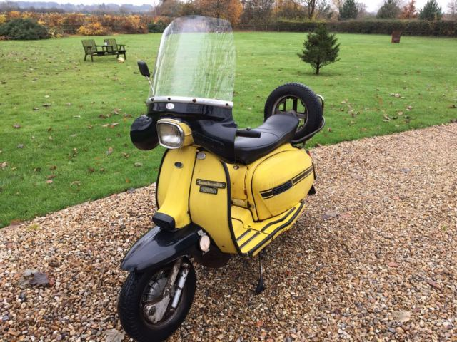 lambretta gp200 one owner original bike very rare !!!!!!!