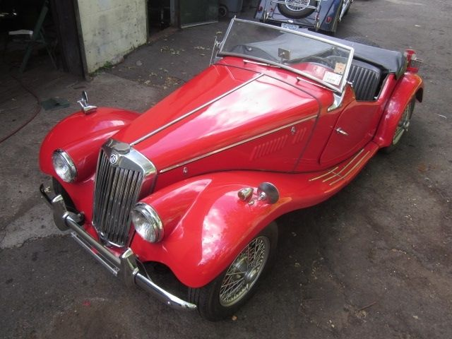 1954 MG TF 1250, dry-stored great running vintage convertible British sports car