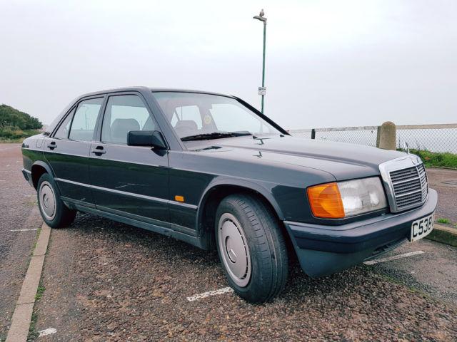 1986 w201 CLASSIC MERCEDES 190E 2.0 liter