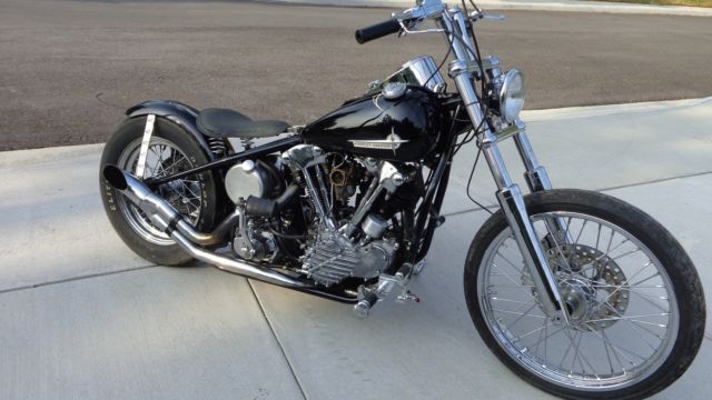 1940 Harley Davidson Knucklehead Bobber, knuckle, Panhead