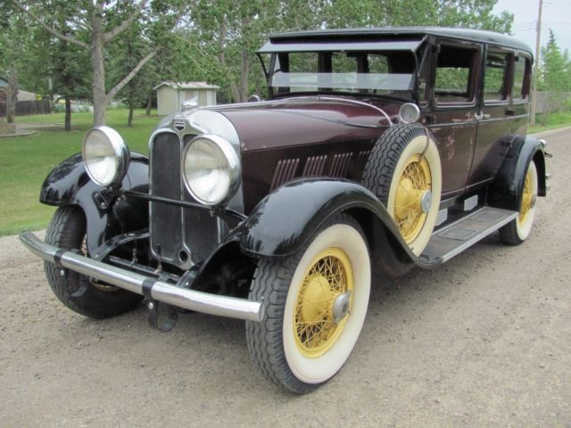 Auburn 125 Full CCCA Classic Original Survivor ACD Cord Vintage Antique Auto Car