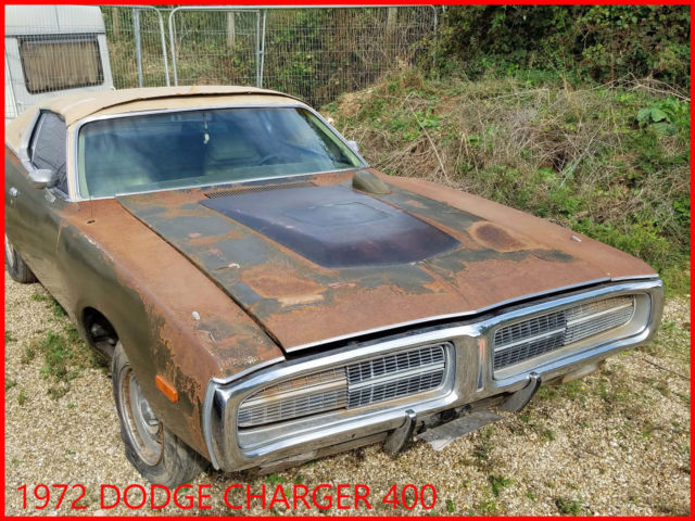 Dodge Charger - 1972 - 400 - Special edition -  Project car
