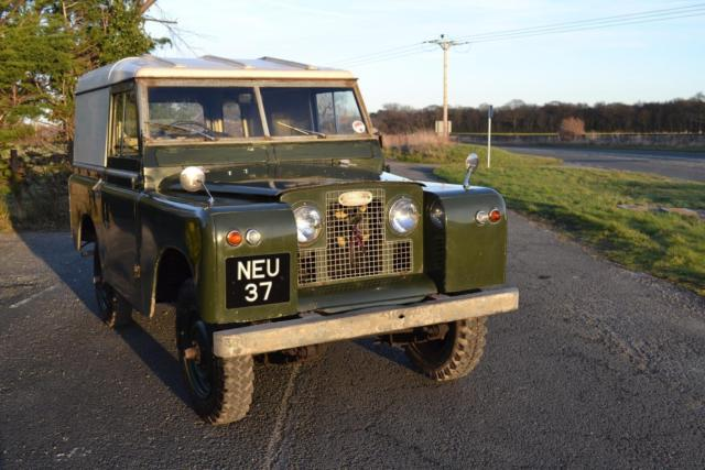 "Land Rover Series 2a 88"" 1963 1 Owner & 73,000 Miles NEU 37"