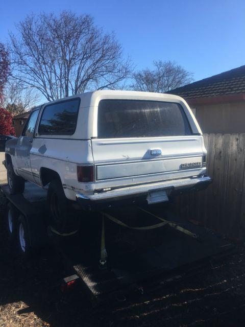 1990 Chevrolet K5 Blazer 31K Original Miles