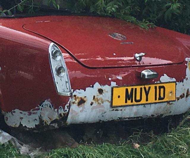 MG Midget restoration project