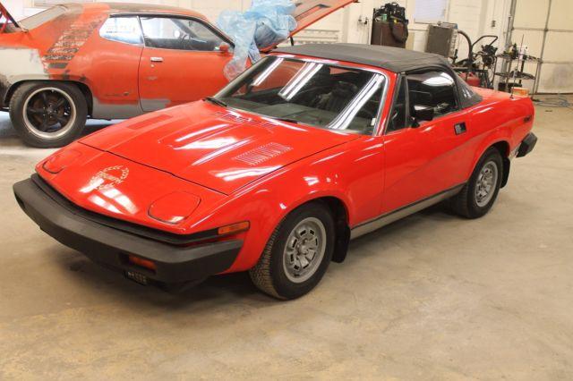 1980 Triumph Covertible