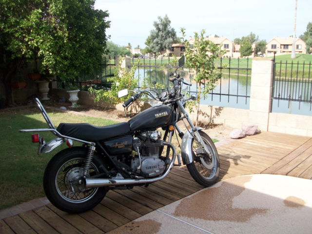 MOTORCYCLE YAMAHA XS 650 SPECIAL