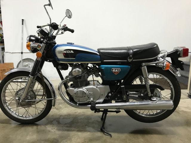1973 Honda CB175, Excellent Condition