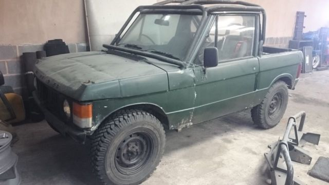 Range Rover Classic 2dr 1971 off roader land project V8 2 door tax exempt v5