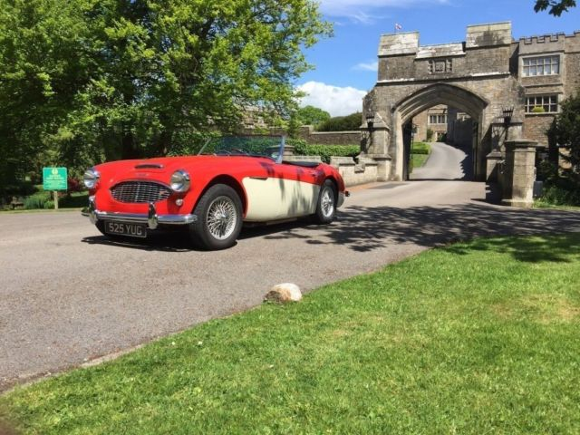 1957 Austin Healey 100 6 RHD Manual Red 33K Miles