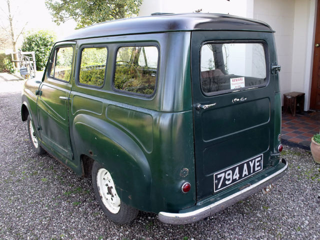 Classic 1960 Austin A35 van, V5C, original registration, estate resto project