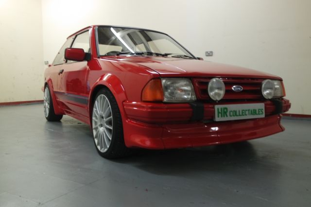 MONSTER MODIFIED FORD ESCORT SERIES 1 RS TURBO RED 245BHP!
