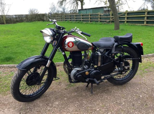 BSA B33 1954 500cc M20 Special Classic Motorcycle