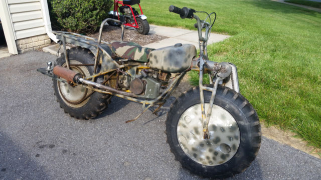 1968 MOTORCYCLE ROKON TRAILBREAKER MINI BIKE