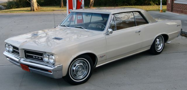 1964 GTO Factory Tri-Power - 44K Miles - Unrestored Concours Gold Car