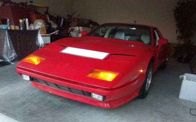 Ferrari 512bb replica V8 5speed