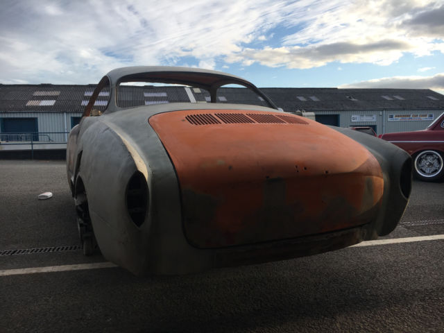 VW 1970 Karmann Ghia Big Project Shell, New Chassis T1 T3
