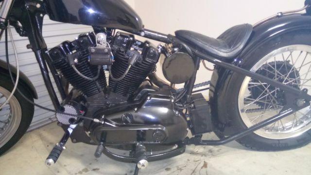 1975 Harley Davidson Sportster hardtail bobber For Sale