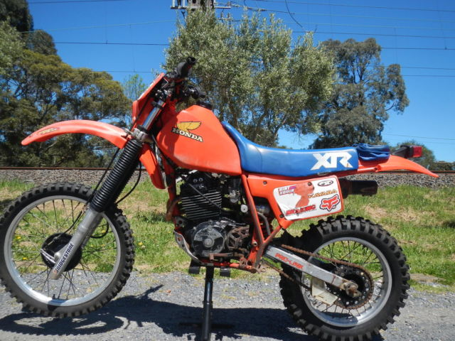 Honda XR 350 1983 VERY VERY original Suit VINDURO