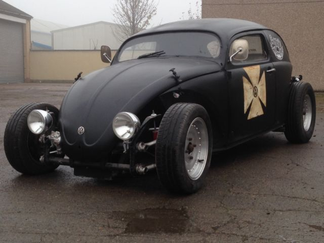 vw classic beetle rat rod matt black 1969 1641cc engine tax exempt moted for sale darlington. Black Bedroom Furniture Sets. Home Design Ideas