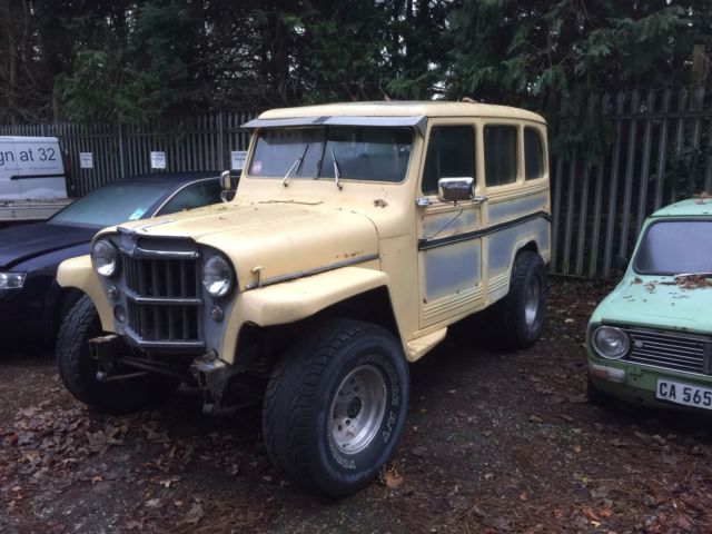 Willys Jeep Station Wagon 1960 V8