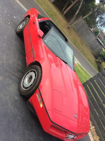 Corvette 1985 Right Hand Drive