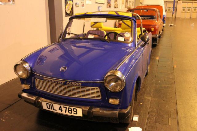 Trabant 601s Cabriolet NEC Classic Car Show 2014 Exhibit