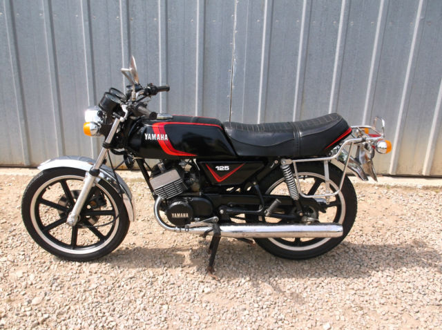 1981 Yamaha RD125 DX Twin Cylinder Motorcycle Only 13082 Km's  Barn Find
