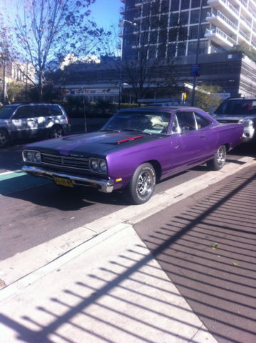 1968 Plymouth Roadrunner Car Plum Crazy Purple