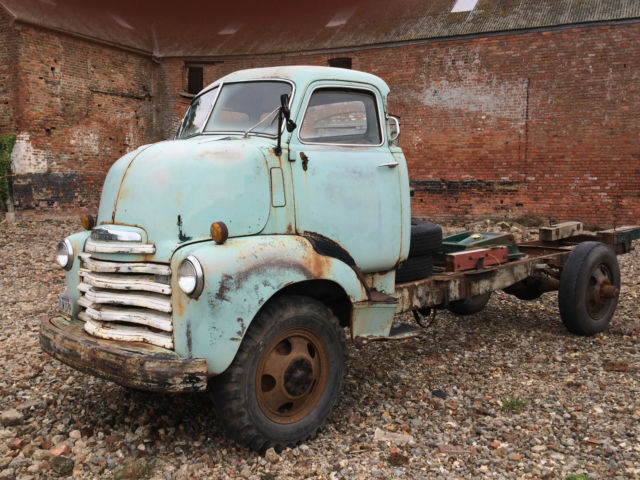 1950 Chevrolet Chevy COE pickup truck Barn find Hot rod v8 - very original