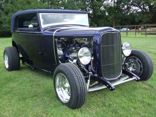 Ford 1931 Model A Street Rod Victoria Genuine Steel 31 Car With Copy of Title