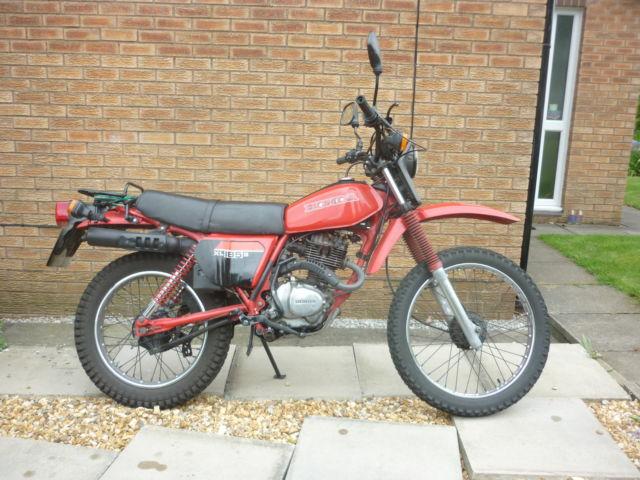 HONDA XL 185 1982