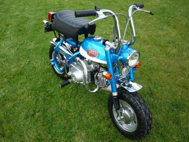Vintage Honda Z50a 1972, K-2,Aussie Delivered, fully restored, 100% street legal
